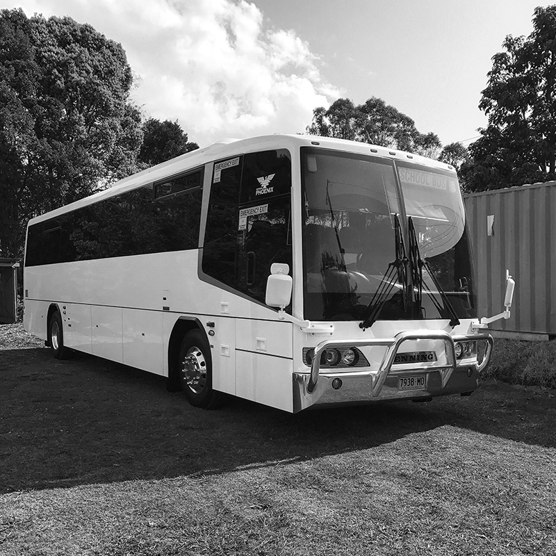 Bulzomi Buses | Byron Bay Wedding Transport
